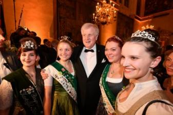 NEW YEAR'S RECEPTION OF THE BAVARIAN PRIME MINISTER
