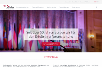 New website for Brähler Convention