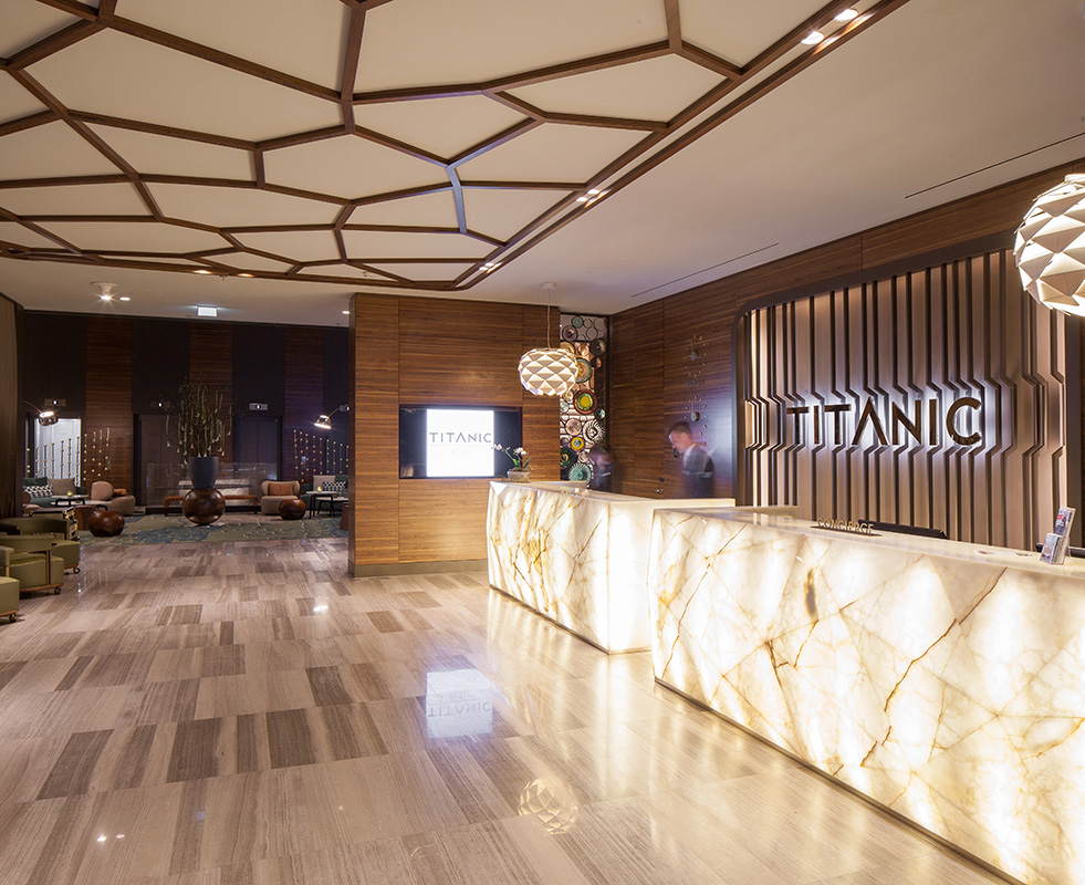 Titanic Hotel Berlin Unternehmen
