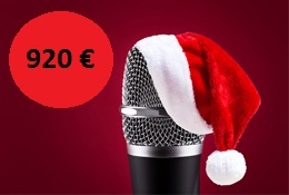 Special promotion: Technical equipment for your Christmas event